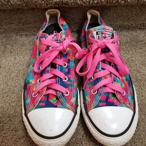 2 for $20! Pink Printed Converse